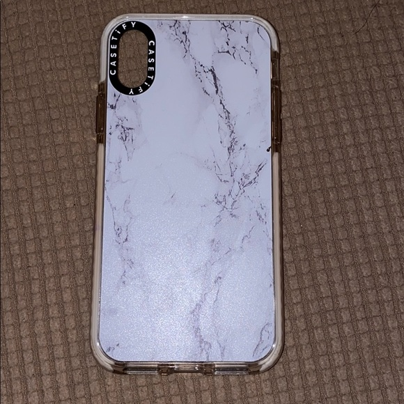 Casetify Accessories - iPhone X case used for about a month